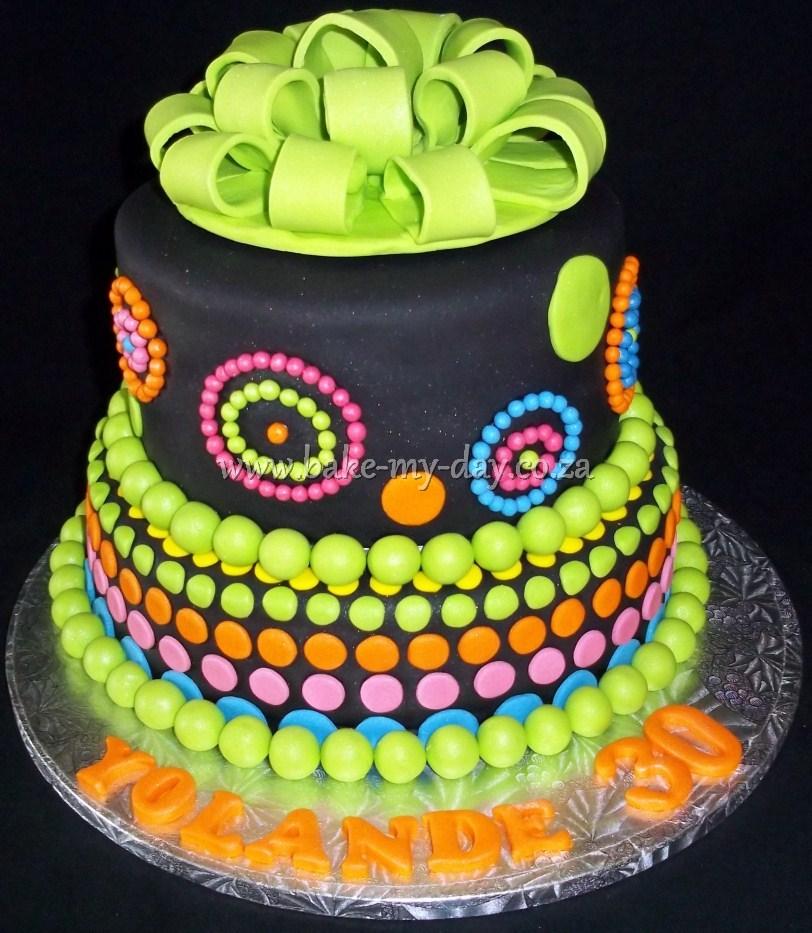 30th Birthday Cake 3
