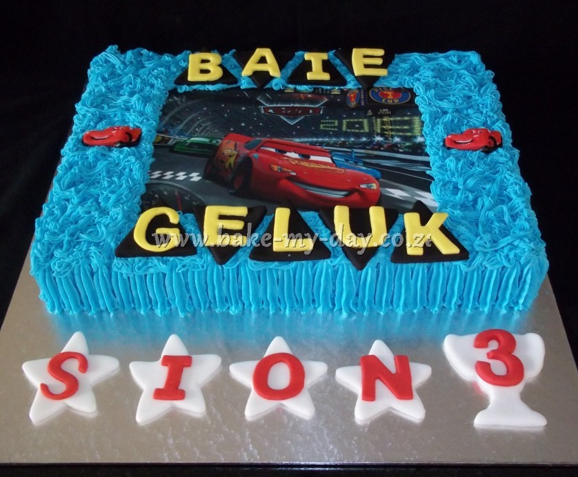 Edible Cake Images Cars : Bake My Day Edible Image Cakes Page