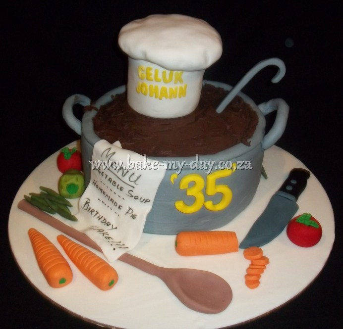 Birthday Cake Designs For A Chef : Bake My Day Men s Cakes Page