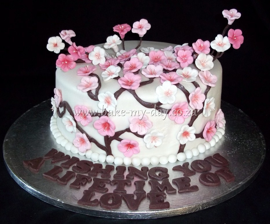 Cherry Blossom Cakes And Cupcakes