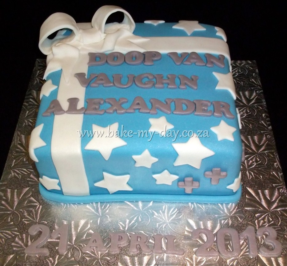 Bake My Day Christening Cakes Page