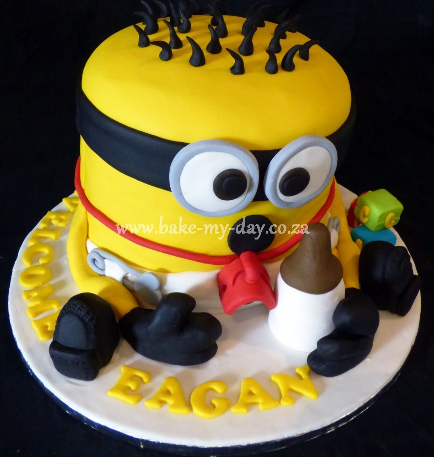 despicable me unicorn cake folded nappies cake edible ladybug cake