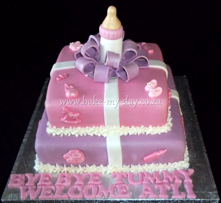 Baby Welcome Cake Images : Pin Pin Welcome Back Cake a?? Picture To Pinterest Cake on ...