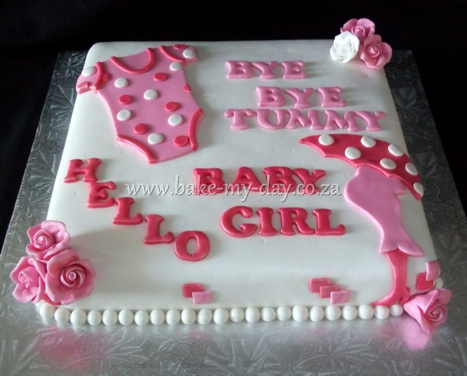 Baby Welcome Cake Images : Bake My Day Baby Shower Cakes Page